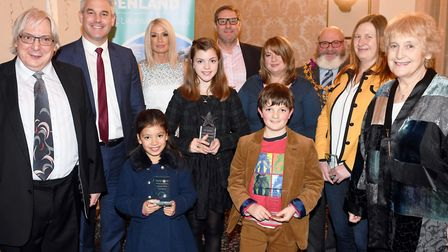 Fenland Poet Laureate 2019-2020: Winners announced at the Rose and Crown Hotel, Wisbech, with Steve