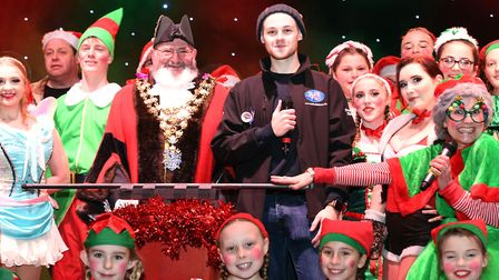 Hundreds welcome festive season in Wisbech at annual lights switch on. Picture: IAN CARTER