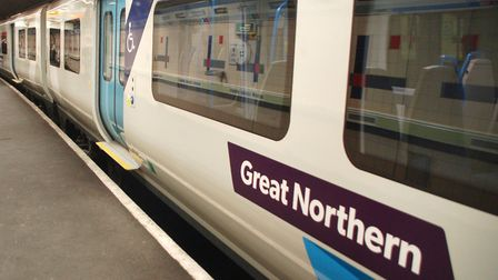 Trains between Welwyn Garden City and Moorgate are delayed due to an 'operational incident'. Picture