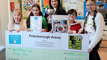 A Wisbech primary school has £200 to spend on cooking equipment after winning the Winter Warmer Soup