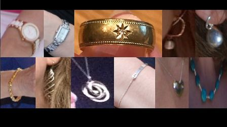 Police have released images of jewellery stolen in a burglary in Welwyn. Picture: Herts police