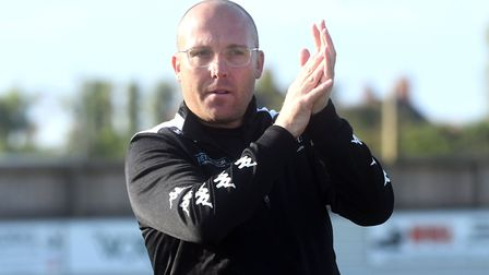 Wisbech Town manager Seb Hayes has resigned. Picture: IAN CARTER