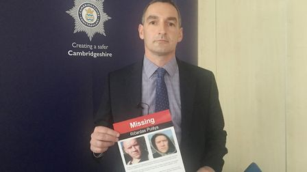 DCI Adam Gallop believes that Ricardas Puisys from Wisbech - believed to have been murdered four yea
