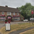 A man collapsed at The Grove pub in Hall Grove, Welwyn Garden City, last night. Picture: Google Stre