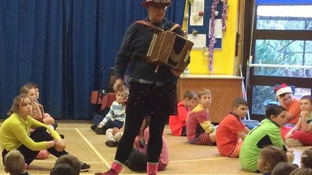 Pupils at Anthony Curton & Tilney All Saints held their traditional dance show. BBC Radio Cambridges