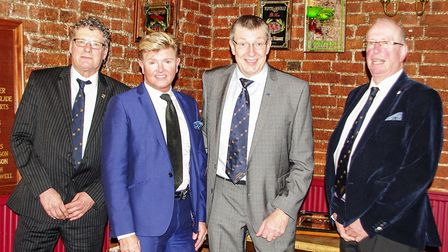 Wisbech Business & Professional Men's Club induct four honorary members: past chairman Martin Eggett