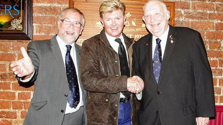 Wisbech Business & Professional Men's Club induct four honorary members: Tony Reddy, Martin Gold and