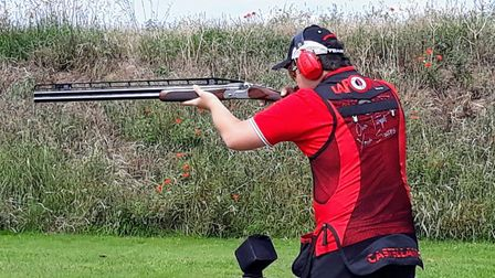 Flying spirit for sixth former William up for award in clay pigeon shooting. Picture: WGS