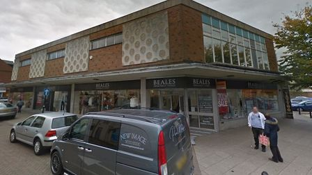 The Beales department store in Wisbech is in administration. Picture: Google Maps