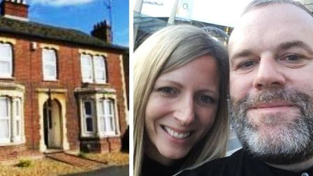 Richard and Clare Lilley (right) who have bought this Wisbech house and want to license it as an HMO