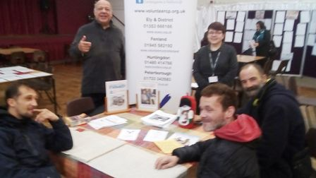 Volunteering opportunities in Fenland for people to lend a helping hand. Chloe Cross, the Building B