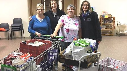 Super slimmers from the Fens are supporting their local homeless and local foodbank. Picture: Suppli