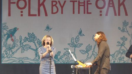 Kate Rusby performing at Folk by the Oak 2017 in the grounds of Hatfield House. Picture: Alan Davies