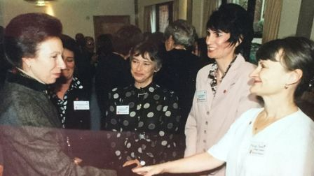 The late Marilyn Spinks, a Save the Children committee member of 27 years, has been posthumously awa