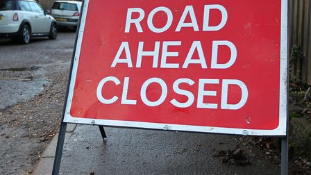 Junction 6 exit slip road on the A1(M) will be closed from 9pm today. Picture: Danny Loo.