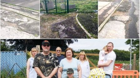 Residents still upset Wisbech Cromwell Garden's estate is incomplete - one year since they started c