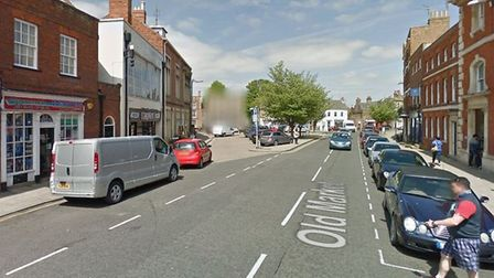 Man assaulted in Wisbech after 'violence' at restaurant in Old Market. Picture: GOOGLE EARTH