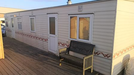 Owners of Fenland poultry business speak of their eviction despair. Pictured are the caravans on sit