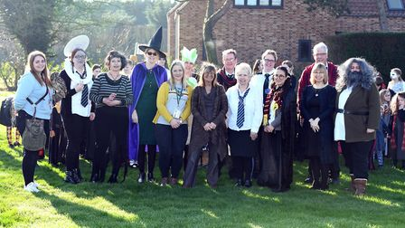 Kinderley Community Primary School in Wisbech held a Harry Potter day on Thursday February 6. The ev