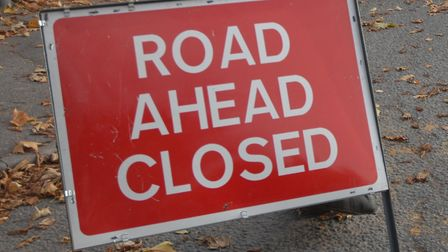 Ridgeway in Welwyn Garden City is expected to be closed for several hours.