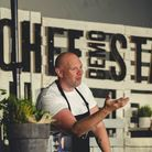 A chef demo by Tom Kerridge at Pub in the Park. Picture: Will Stanley