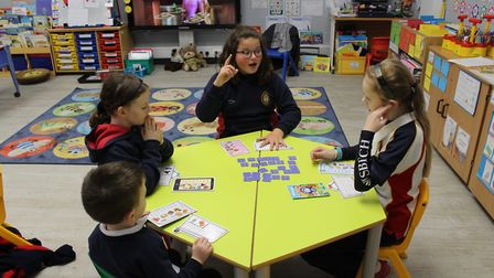 Pre-school children in Wisbech had an off-timetable day to learn about mental health and wellbeing.