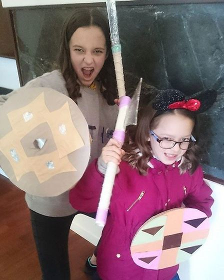 Families flocked to Wisbech and Fenland Museum at a vikings event. Pictures: FRED WHITE/WISBECH & FE