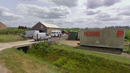 S & T Poultry of Wisbech St Mary are in dispute with Fenland planners over three static caravans whi