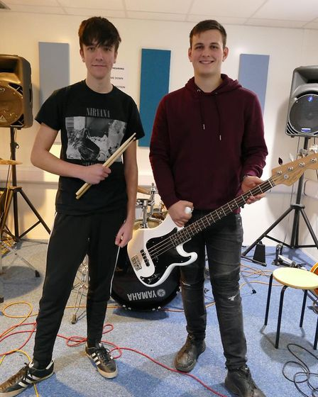 College of West Anglia students staged a fundraising concert for a four-week camping expedition to C