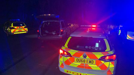 The driver of the silver Jeep was arrested after a suspected cannabis-fuelled police chase through W
