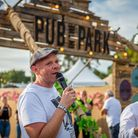 Tom Kerridge at Pub in the Park. Picture: Jo Hailey
