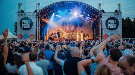 Pub in the Park will return this year with another mouthwatering line-up of pop-up pubs and music.