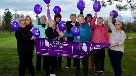 Tydd St Giles ladies golf captain Christen Young has picked Active for Pulmonary Fibrosis as her cho