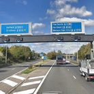 Work to change the A1(M) between Junction 6 for Welwyn and Junction 8 for Stevenage into a smart mot