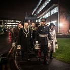 The candlelit parade for Holocaust Memorial Day. Picture: Blake Ezra Photography 2019