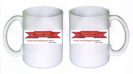 Commemorative Wisbech & District Camera Club mugs. Picture: Supplied/WDCC