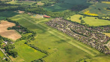 Panshanger air field is set to have 160 more houses in the Local Plan, Photo by Peter Sterling.