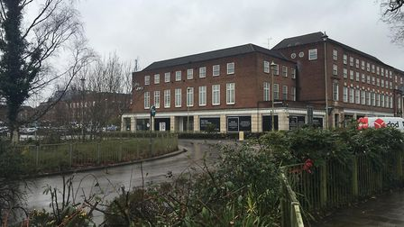 The Town Centre North site in Welwyn Garden City. Picture: Matt Powell