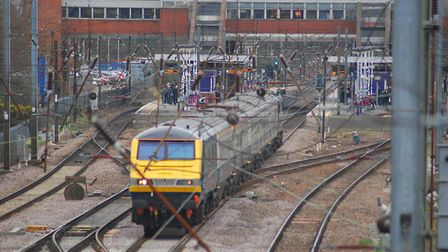 Delays are expected due to tresspasser or trespassers on the track. Picture: Archant.