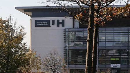 The University of Hertfordshire De-Havilland Campus. Picture: Herts Uni.