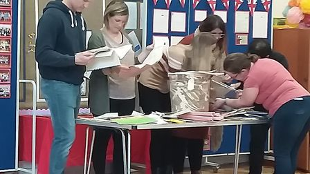 A time capsule buried at St Peter's Junior School in Wisbech has been unearthed after nearly 30 year