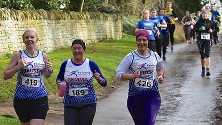 Fenland Running Club members in action (pic Tim Chapman)