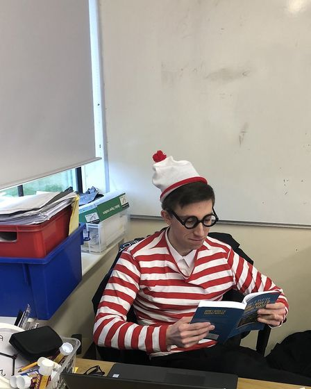 Onslow St Audrey's World Book Day 2020. Picture: OSA.