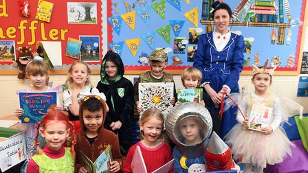 Pupils at Magdalene House Preparatory School in Wisbech dressed as their much-loved characters for W
