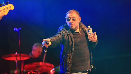 Shaun Ryder of Happy Mondays, who are scheduled to headline Stone Valley Festival South 2020 in Hert