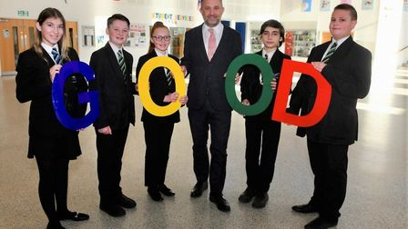 """Thomas Clarkson Academy is """"unrecognisable"""" after receiving a good rating by Ofsted for the first ti"""