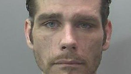 Four years jail for Harry Smith, 27, after attempted Murrow newsagent's robbery. Picture: CAMBS POLI