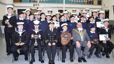 Wisbech Sea Cadets became the first in the country to be affiliated with the Royal Society of St Geo
