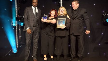 Potential Kids Ltd won the Judges' Award sponsored by Archant at the Hertfordshire Business Awards 2