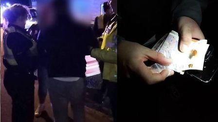 Three people are being investigated for drugs offences in Wisbech including possession with intent t
